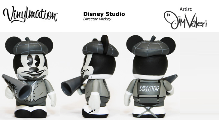 Director Mickey Chasing Vinylmation