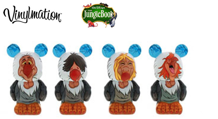 DISNEY STORE UK- JUNGLE BOOK FIGURES/figurines- THE FOUR ...